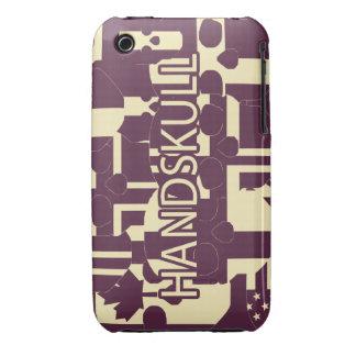 HANDSKULL Purpur - IPhone 3G 3GS Case Barely