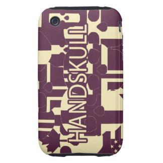 HANDSKULL Purpur - IPhone 3G 3GS Case Tough