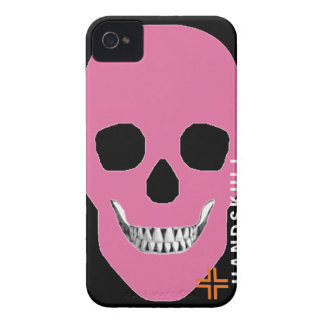 HANDSKULL Rebel Pink - IPhone 4 Barely There Unive iPhone 4 Cover