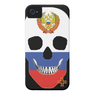 HANDSKULL Russia - IPhone 4 Barely There Univ iPhone 4 Case-Mate Case
