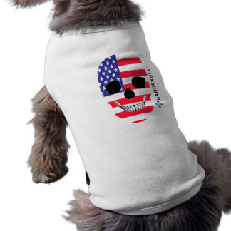 HANDSKULL United States,Happy skull,USA flag Shirt