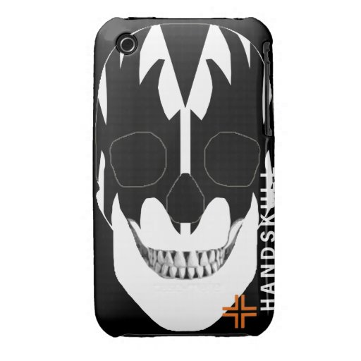 HANDSKULL Vampire - IPhone 3G 3GS Case Barely iPhone 3 Covers