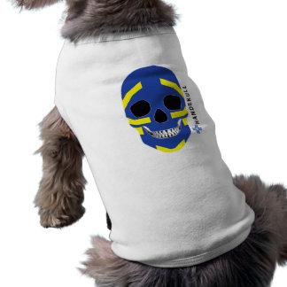 HANDSKULL Viking,Happy skull,Viking flag Tee