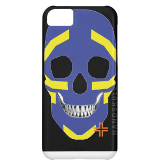 HANDSKULL Viking iPhone 5C Barely There Case-Mate