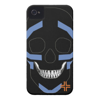 HANDSKULL Warrior - IPhone 4 Barely There Univ iPhone 4 Case-Mate Case