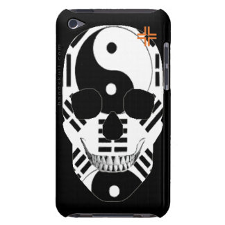 HANDSKULL Yin Yang - tacto apenas 4to Generat de iPod Touch Fundas