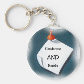 Handsome AND Handy Keychain