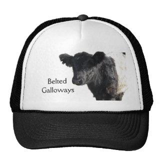 Handsome Belted Galloway Steer Trucker Hat