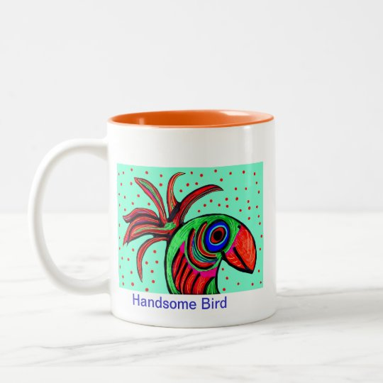 Handsome Bird Coffee Mug