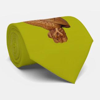 handsome brown owl tie