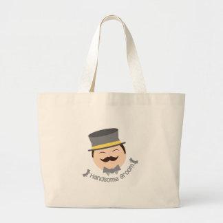 Handsome Groom Jumbo Tote Bag