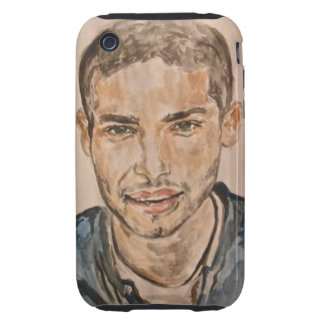 Handsome guy iPhone 3 tough covers