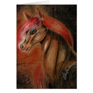 Handsome Horse Card