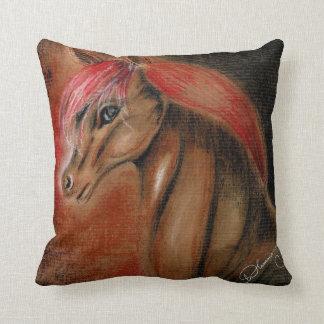 Handsome Horse Throw Pillows