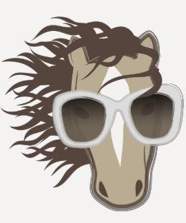 Handsome Horse (sunglasses) Shirt