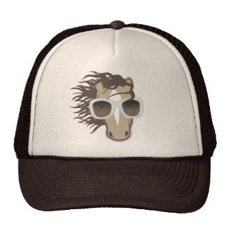 Handsome Horse (sunglasses) Trucker Hat
