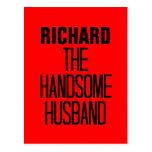 Handsome Husband Postcard