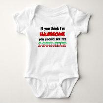 Handsome Italian Godfather Baby Bodysuit
