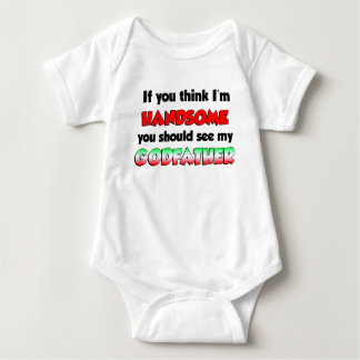 Handsome Italian Godfather Baby Bodysuit