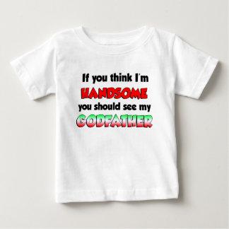 Handsome Italian Godfather Baby T-Shirt