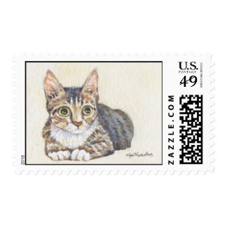 handsome kitty postage
