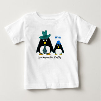 Handsome like Daddy Custom Name Christmas T-Shirts