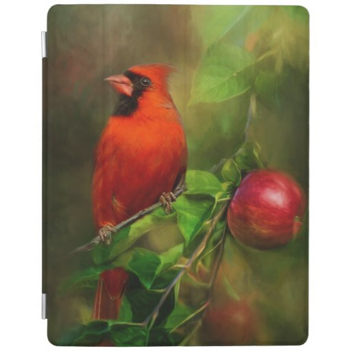 Handsome Male Cardinal iPad Smart Cover