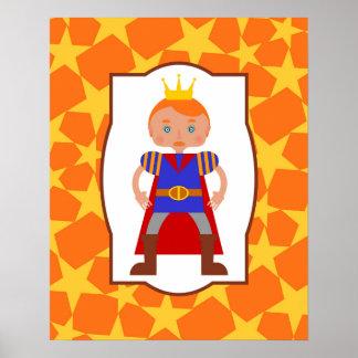 Handsome prince poster