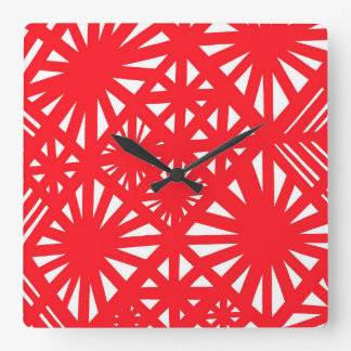 Handsome Principled Respected Perfect Square Wall Clock