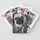 Handsome Pug Deck Of Cards