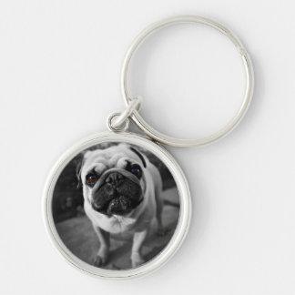 Handsome Pug Key Chains