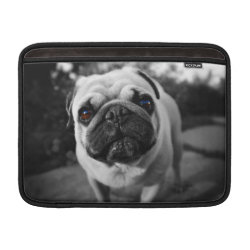 Macbook Air Sleeve with Pug Phone Cases design