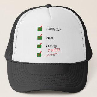 Handsome, rich, clever free Ex boyfriend Trucker Hat