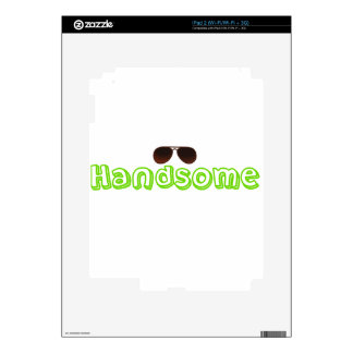Handsome Shirt and more iPad 2 Skins