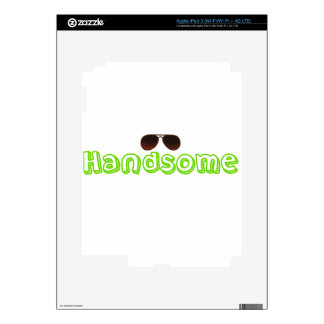 Handsome Shirt and more iPad 3 Skins