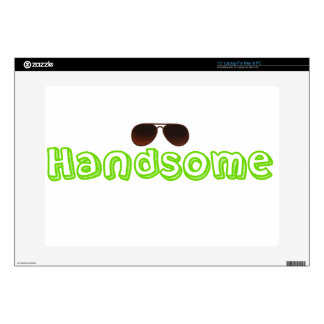 Handsome Shirt and more Laptop Skin