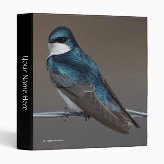 Handsome Tree Swallow: Bird on a Wire Binder