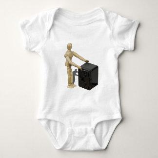 HandsOnBankVault112611 Baby Bodysuit