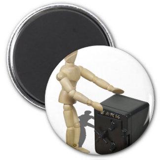 HandsOnBankVault112611 Magnet