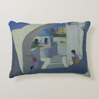 Handstand Santorini Accent Pillow