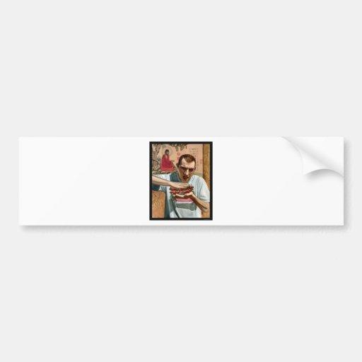 Handwich Bumper Sticker