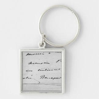Handwriting and Signature Key Chains
