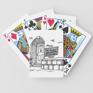 Handwriting Cartoon 2059 Bicycle Playing Cards