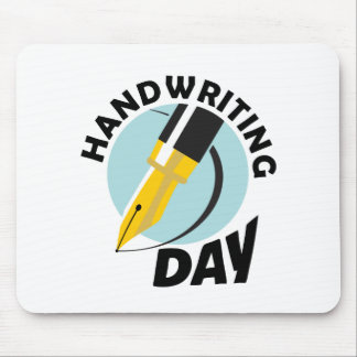 Handwriting Day - Appreciation Day Mouse Pad