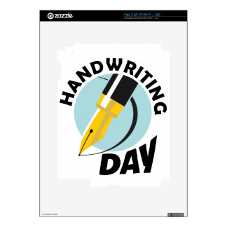 Handwriting Day - Appreciation Day Skin For The iPad 2