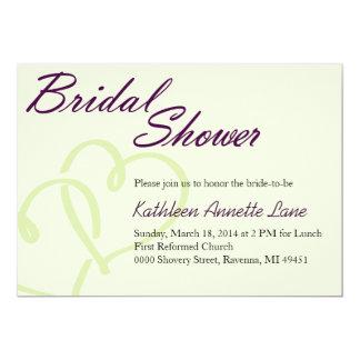 Handwritten Bridal Shower Invitation
