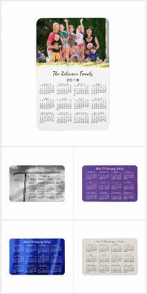 Handy 2019 Calendar Magnets