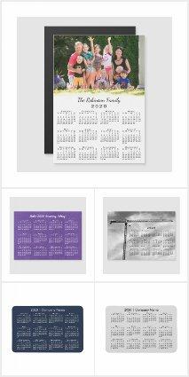 Handy 2020 Calendar Magnets