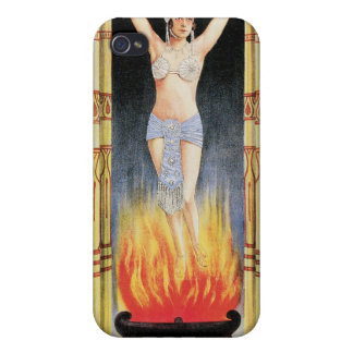 Handy Bandy & Nadia Nadyr Vintage Magic Act Cover For iPhone 4