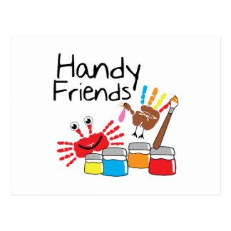 Handy Friends Postcard